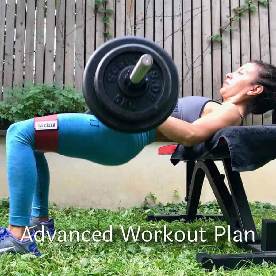 Advanced Workout Plan